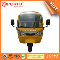 2016 Chinese Popular Motorized Gasoline Closed Cabin Cargo 250CC Adult Tricycle Used For Sale