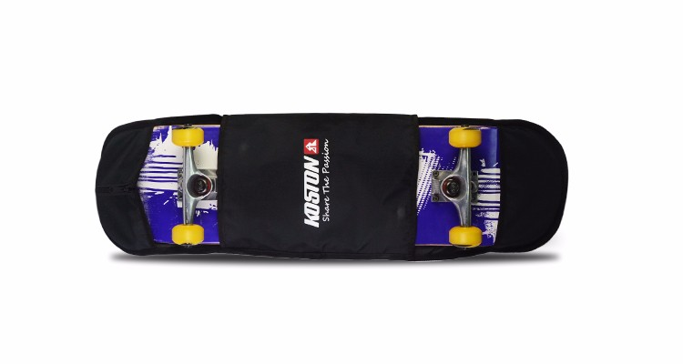 2016 quality skateboard completed with nice design Nylon Carry Bag ,Canadian maple deck made by leading factory in China