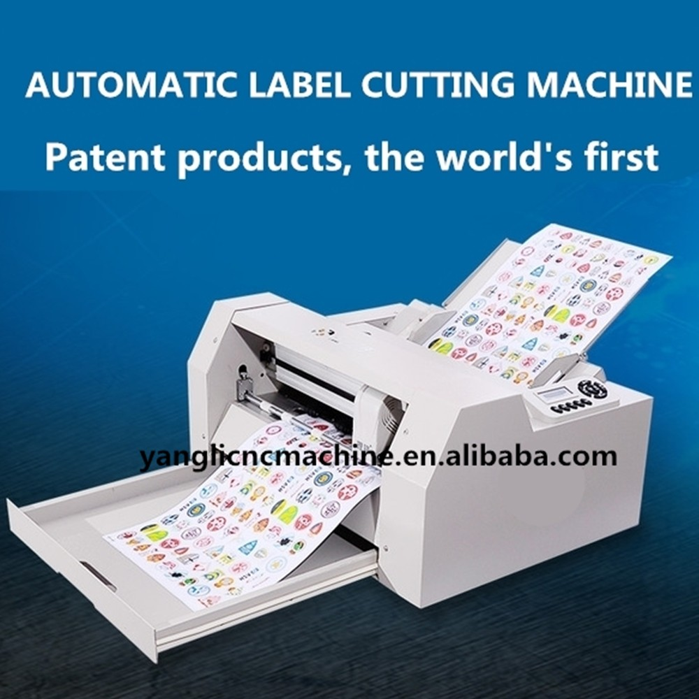A4/A3 Adhesive Sticker Automatic Feeding Sheet to Sheet Cutting Machine, Label Sheet die Cutter