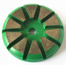Metal bond concrete grinding disc