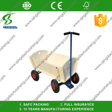 Easy And Convenient to assemble and use, Wooden Tool Cart