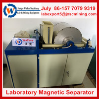 Laboratory mining machinery,magnetic separator for processing wet iron ore