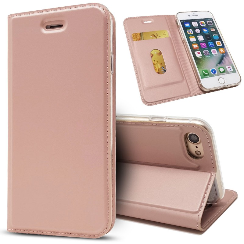 ICoverCase Luxury 책 Flip Carcasa Coque Cover 대 한 Apple iPhone X 6 6 초 7 8 Plus Case 가죽 지갑 mobile Phone