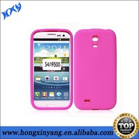 for Samsung galaxy S4 plain silicone cover