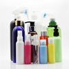 In stock 100ml 150ml 250ml 500ml Colorful PET Plastic Cosmetic Bottles