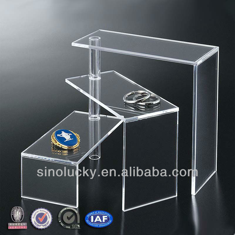 2014 Special Design Acrylic Display U Bend Risers