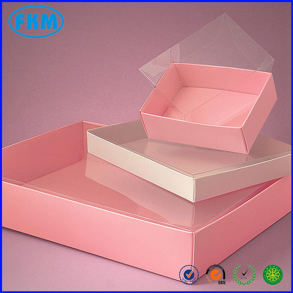 Fold-Up Clear View Top Boxes