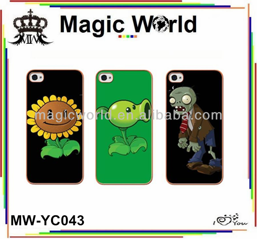 Plants VS Zombies Cell Phone Cases For iPhone 5