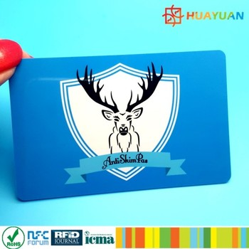 ID passort protecting RFID blocking card paper sleeve