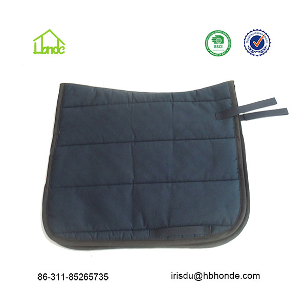 endurance faux suede saddle pads