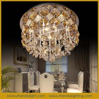 wholesales contemporary crystal lighting ceiling lights led for home