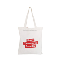 Boutibox BB-C14 Yiwu fashion promotional Saterday canvas tote bags gift carry shopper