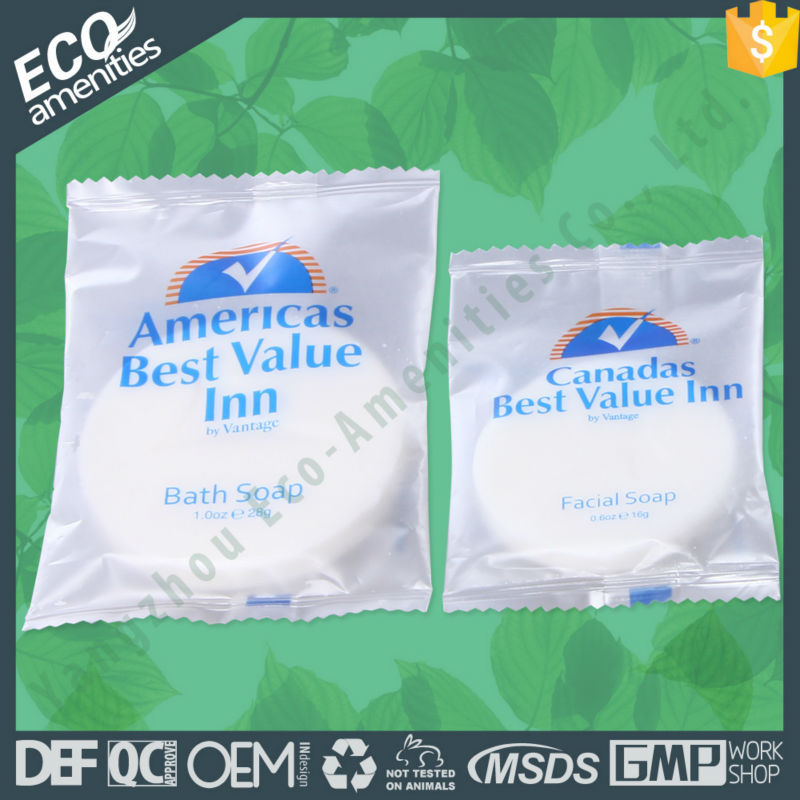 European American Design and style 2015 Promotional paper thin soap is hotel soap