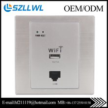 Mini inwall 86X Wireless Wi fi access point wifi AP for hotel/restuarant