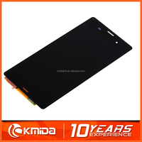 Low price mobile phone accessories lcd factory in china for Sony xperia for sony xperia z3 plus