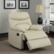 popular Single leather Recliner Sofa Furniture, Small Reliner room Sofa 91490-51