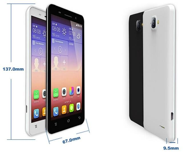 4.5 inch 4G MTK6735 android factory price high quality smart phone