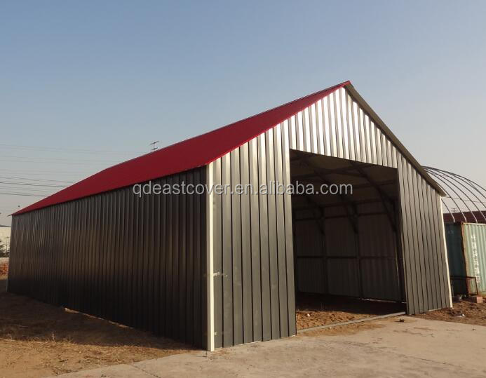 Outdoor Prefabricated Metal Steel house building
