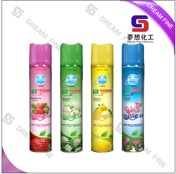 300ml Household canned good quality air freshener spray/high grade OEM alcohol based refresh air spray