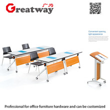 Made from Guangzhou big sale inversion foldable teachers desk kids furniture