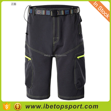 Men's breathable quick-drying multi-bag mountain bike off-road outdoor leisure sports shorts