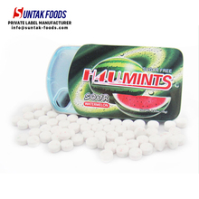 Xylitol Dental Mint Candy In Slide Tin Can Teeth Friendly Sweets