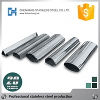 Best material Special-shaped stainless steel tube for car faw parts