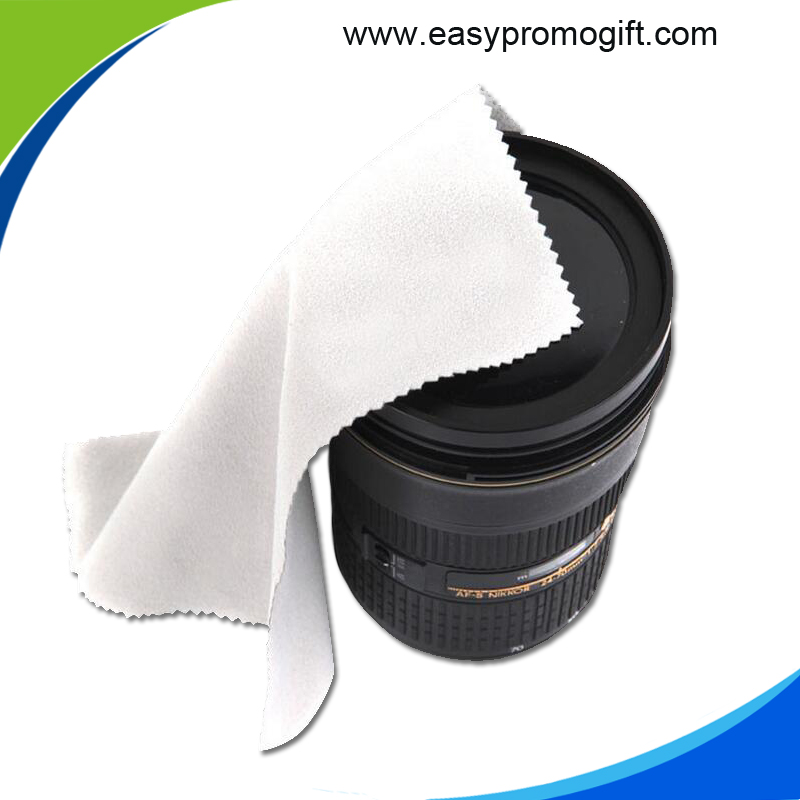 Eco-friendly reusable microfiber lens cloth