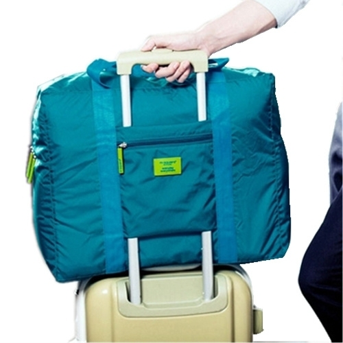 Hot Sale Foldable brand designer luggage travels bags organizer waterproof women and men duffle carry on luggage traveling bag