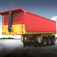 50 tons platform tipper semitrailer with container box for sale