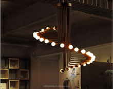 Luxury LED light modern chandelier for hotel decoration