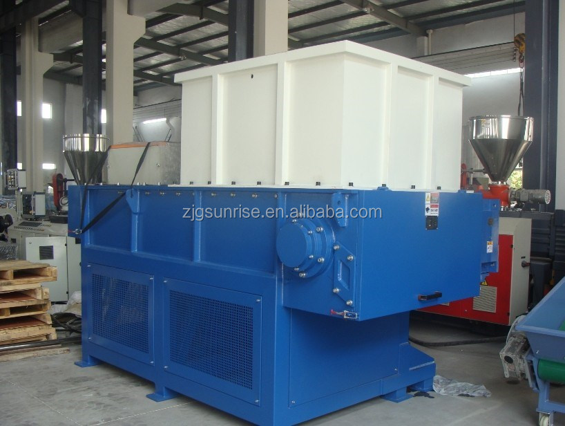 small single shaft shredder machine for pvc pe pp pipe hard plastic