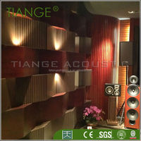 Decoration fireproof acoustic panel