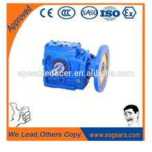 K series gear speed reducer reductor with motor bevel gear reducer