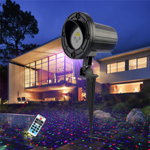 RGB Outdoor Laser Motion Lights For Christmas