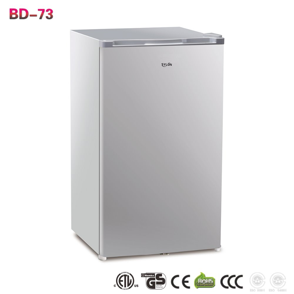 Bd 73 73l single door commercial household cheap mini for Table top freezer