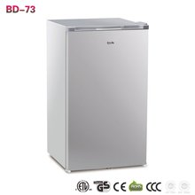 BD -73 73L single door commercial household cheap mini table top freezer refrigerator