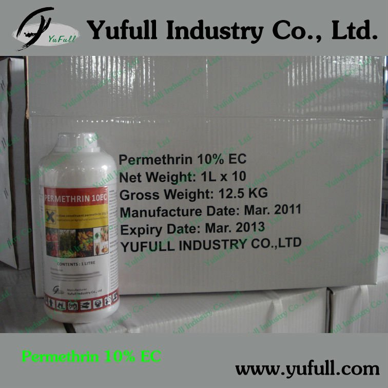 Permethrin 10% EC, insecticides
