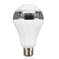 RGBW 9W Smart Bluetooth LED Light Bulb Speaker with APP Timing Changing Color