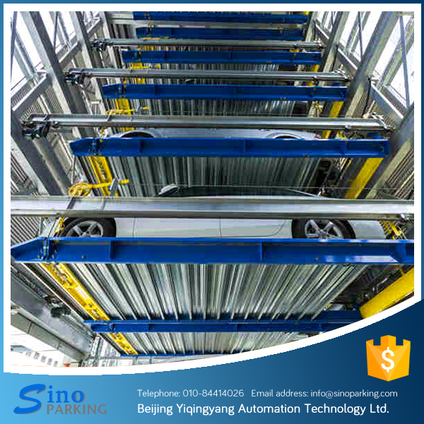6 levels high quality PSH car parking system