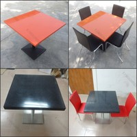 KKR antike esstische dining table set for restaurant,modern pure acrylic solid surface table