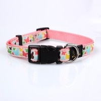 Fancy female dog collars sample free with cute logo