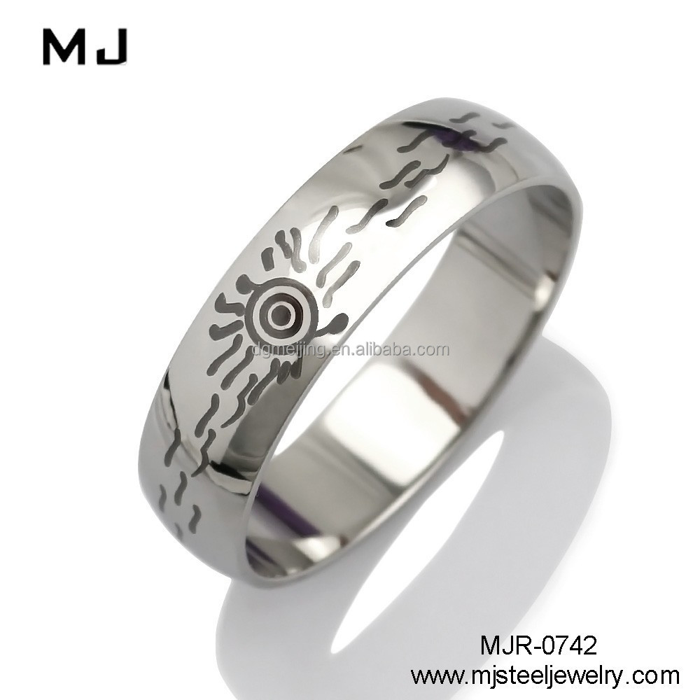 Stainless steel man cock ring(MJR-0742)
