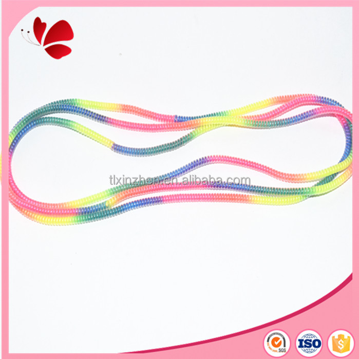 rainbow multicolor 50cm Mobile Spiral moible phone Cords Protector