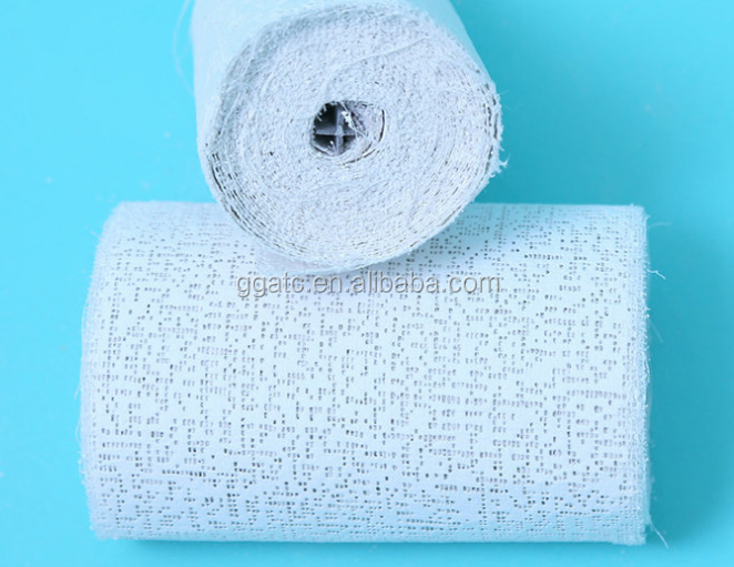 Medical Waterproof Plaster Bandages/pop plaster paris bandage