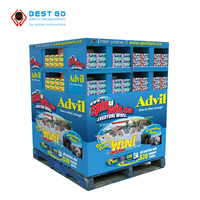 2016 new product Toy Cardboard Pallet Display