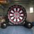 Outdoor pvc tarpaulin sport soccer inflatable dart board  for shooting games