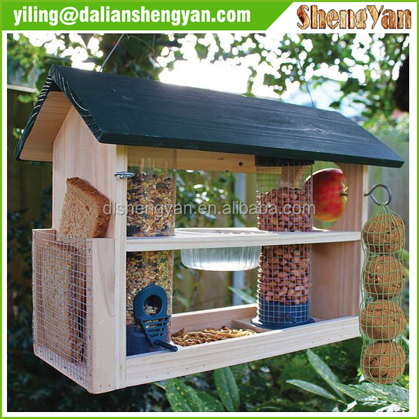Eco-friendly Cheap Standing Wholesale Bluebird Cage/Wooden Bird House