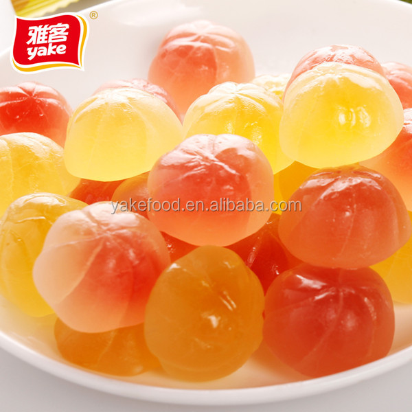 Yake center filled soft jelly candy with 9 vitamins