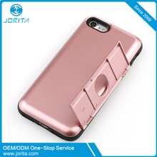 with credit card slot back cover phone case for iPhone 7, card slot case for samsung ,mobile phone shell